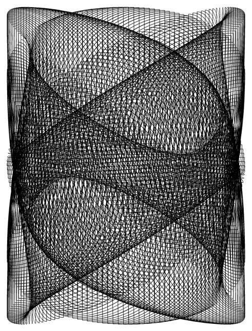 Lissajous Curve #6